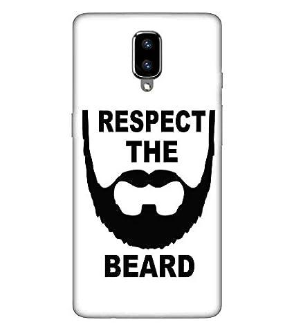 For Oneplus 5 Respect The Beard Printed Designer Back Amazon