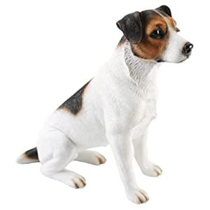 Large Jack Russell Terrier Figurine By Best Of Breed
