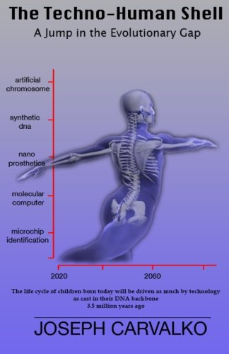 The Techno-Human Shell: A Jump in the Evolutionary Gap
