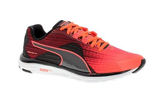 periscope Puma v4 500 Rouge Black Femme De chaussures noir Coral Fiery Course Faas qP1AqwnRF