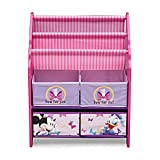 Disney Minnie Mouse Book and Toy Organizer, Multicolor
