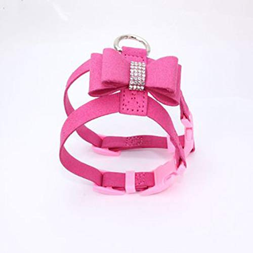 Chelsea Strong Harness Training Vest Adjustable Outdoor Butterfly Drill Harness Rose Red M ()