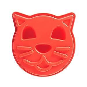 Mason cash molde de silicona dise o de gato color rojo hogar - Moldes silicona amazon ...