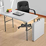 4' Folding Table Portable Indoor Outdoor Picnic