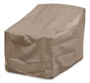 KoverRoos 39804 KoverRoos III Deep Seating Dining-Lounge Chair Cover, Taupe - 36 W x 27 D x 35 H in.
