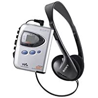 Sony Walkman Digital Tuning Weather FM/AM Stereo Cassette Player (Silver) (Discontinued by Manufacturer)