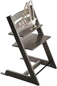 Stokke tripp trapp highchair hazy grey baby for Stokke tripp trapp amazon