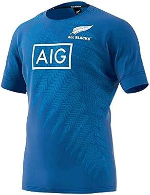 Rugby Jersey Fan T-Shirts Equipo De Nueva Zelanda Maori All Blacks ...