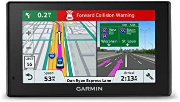 Garmin DriveAssist 51 NA LMT-S w/Lifetime Maps/Traffic, Dash Cam,  Camera-assisted Alerts, Lifetime Maps/Traffic,Live Parking, Smart  Notifications,