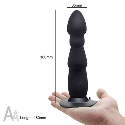 10 Speeds Strong Suction Cup Mute Dildo Vibrator Vagina G Spot Anal Plug Vibration Masturbator for Woman by Victory (Image #3)