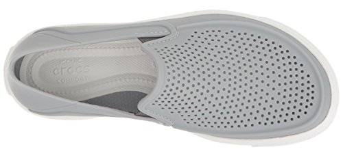 Light Roka Crocs Slip On Citilane Grey Kids White xwqOZvqz