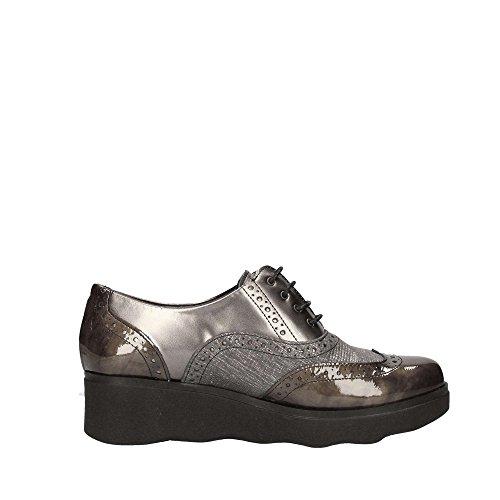 1321 PITILLOS up Femme Shoes Gris Lace OZ6q1fwT