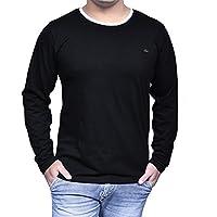 Fenoix Men's Round Neck Cotton T Shirt