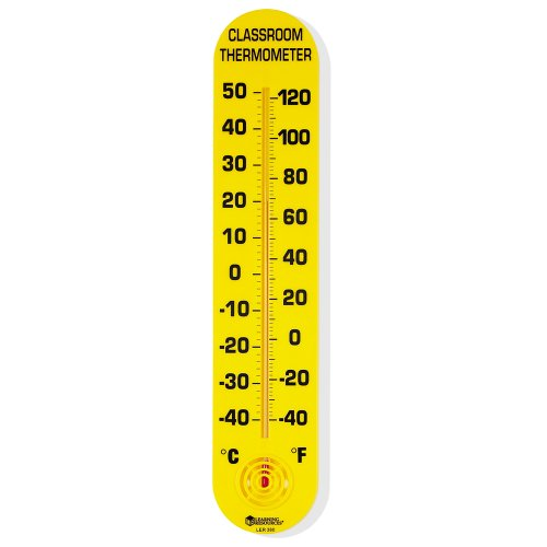 Giant Thermometer Classroom (Learning Resources Classroom Thermometer)