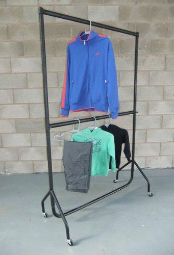 The Shopfitting Shop - Perchero con ruedas para abrigos ...