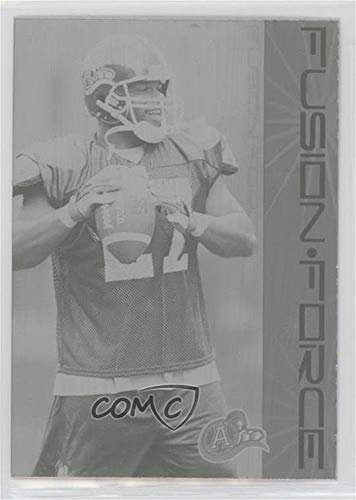 Michael Jenkins #1/1 (Football Card) 2003 Pacific Atomic CFL - Fusion Force - Printing Plate Black #7