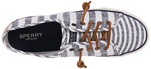 Sperry Top-sider Womens Seacoast Fashion Sneaker Navy Canvas