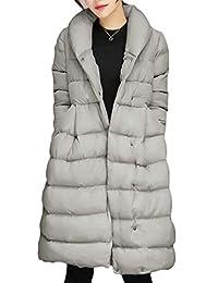 Macondoo Womens Puffer Warm Outwear Winter Fashion Down Parka Coat
