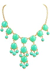 Jane Stone Small Bubble Necklace Y-Necklace Fashion Jewelry Statement Jewellery(Fn0626)