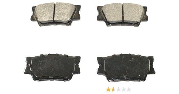 DuraGo BP1212 MS Rear Semi-Metallic Brake Pad Dura International BP1212MS
