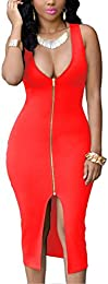 Amazon.com: Red - Night Out &amp- Cocktail / Dresses: Clothing- Shoes ...