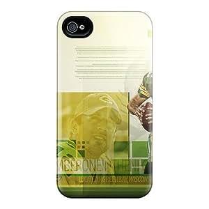 [Fmu1627QGrA]premium Phone Case For Iphone 4/4s/ Green Bay Packers Tpu Case Cover by icecream design