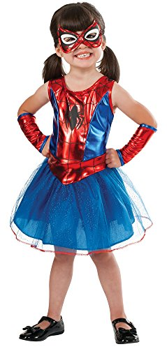 Toddler Spider Halloween Costumes (Toddler Halloween Costume- Spidergirl Toddler Costume 2T-4T)