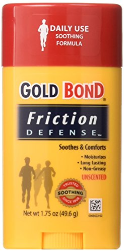 Gold Bond Friction Defense Stick Unscented 1.75 oz ( Pack of 2)
