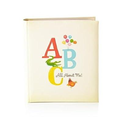 Hallmark Baby BBA7019 Retro Alphabet 5 Year Memory Book