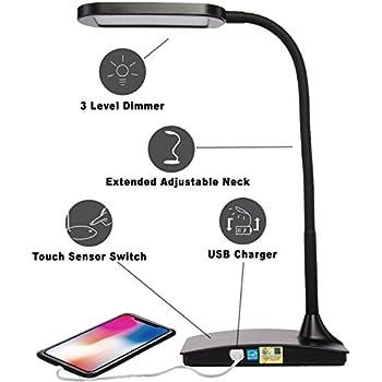 Amazon Com Tw Lighting Ivy 40bk The Ivy Led Desk Lamp
