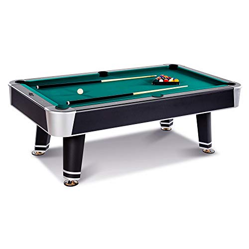 Lancaster 90 Inch Arcade Billiard Table with K-66 Bumper and Balls Included ()