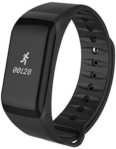 Fitness Tracker Blood Pressure Monitor Heart Rate Watch Pedometer Calories Bluetooth Smart Bracelet
