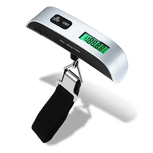ENROSE Hand Carry Digital Luggage Scale Portable Travel