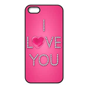 Love Pink iPhone 4 4s Cell Phone Case Black KO2575164