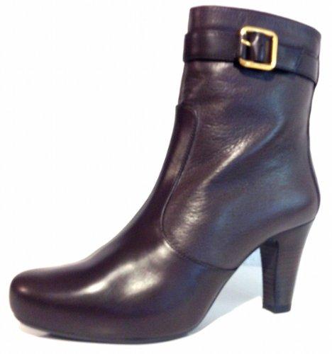 Unisa - Botas de cuero para mujer marrón Moka