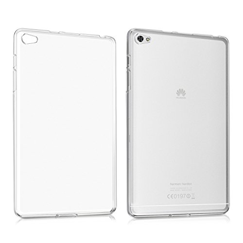 kwmobile Huawei MediaPad M2 8.0 Case - Crystal TPU Cover for Huawei MediaPad M2 8.0 - Matte Transparent