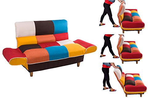 Merax Wf006643zaa Contemporary Multicolor Loveseat
