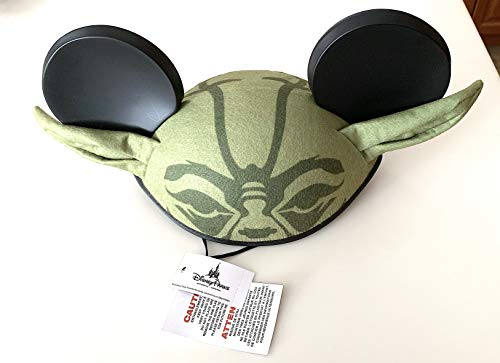 Disney Parks Star Wars Yoda Mickey Mouse Ears Hat Adult Size -