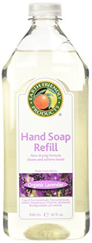 Earth Friendly Products Hand Soap Refill, Lavender, 32 Ounce by Earth Friendly Products