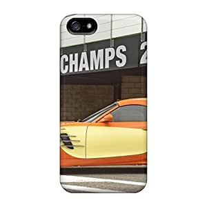 Hard Plastic Iphone 5/5s Case Back Cover,hot Orange Bmw Ac Schnitzer V8 Topster Side View Case At Perfect Diy