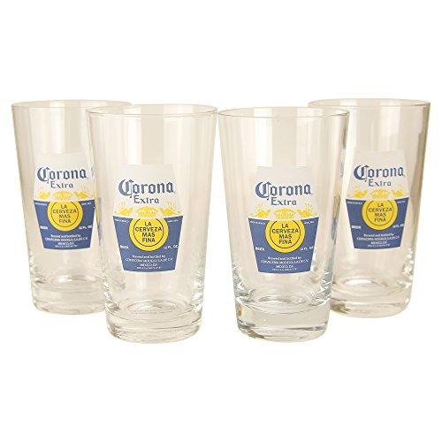 Corona Extra 16oz Glass Classic