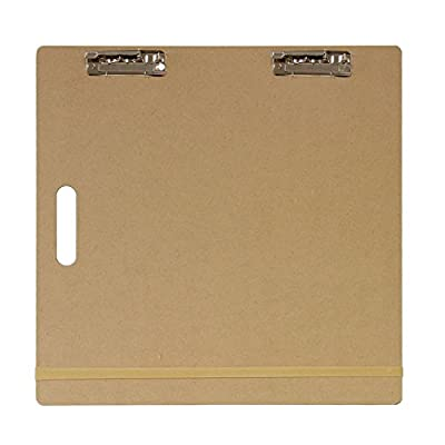 """US Art Supply Artist Sketch Tote Board - Great for Classroom, Studio or Field Use (18""""x18"""") from US Art Supply"""