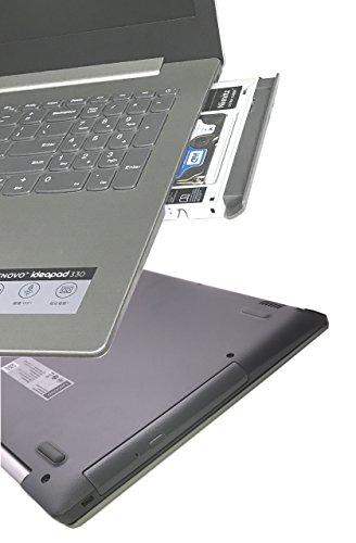 New 2nd SSD HHD Hard Drive Caddy Tray Bracket for Lenovo Ideapad 320 320C 520