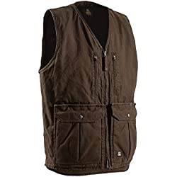 Berne Mens Echo One Zero Concealed Carry Vest (BARK XL)
