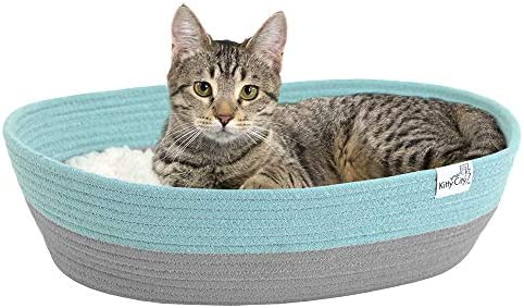 Kitty City Cotton Rope Woven Cat Bed Cat House Colors May Vary Cat Rope Bed Amazon Ae