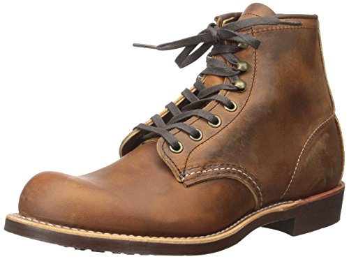 Red Wing Heritage Men's Blacksmith Work Boot, Copper Rough and Tough, 10 D (Red Mens Boots)