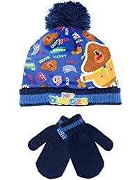 Hey Duggee Boys' Hey Duggee Hat and Gloves Set