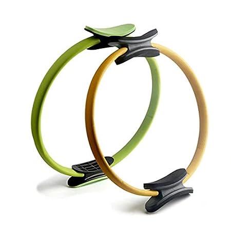 jjyoga Anillo de Pilates Magic Circle doble agarre artículos ...