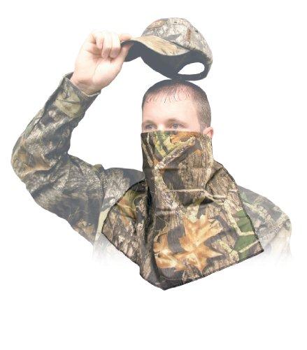 Primos Ninja Cotton 1/2 Face Mask (Mossy Oak New Break-Up)