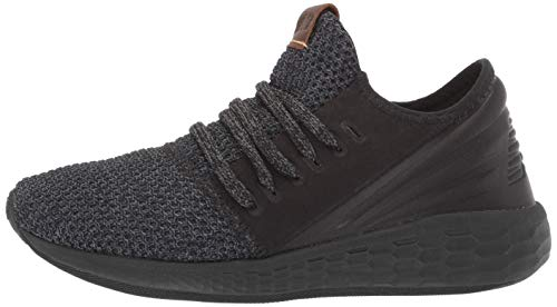 New Balance Women's Cruz V2 Fresh Foam Running Shoe, Black/Magnet/Nimbus Cloud, 5 B US by New Balance (Image #5)